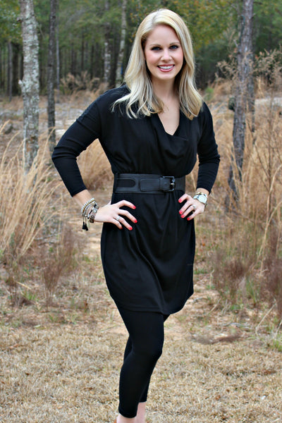 Brittney Tunic, Black