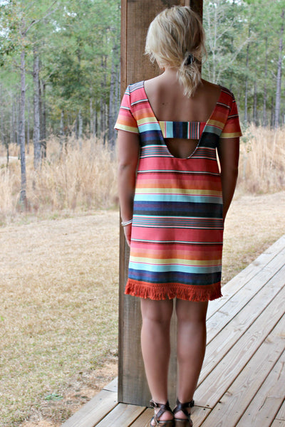 Uncle Frank: Carley Dress, Multi
