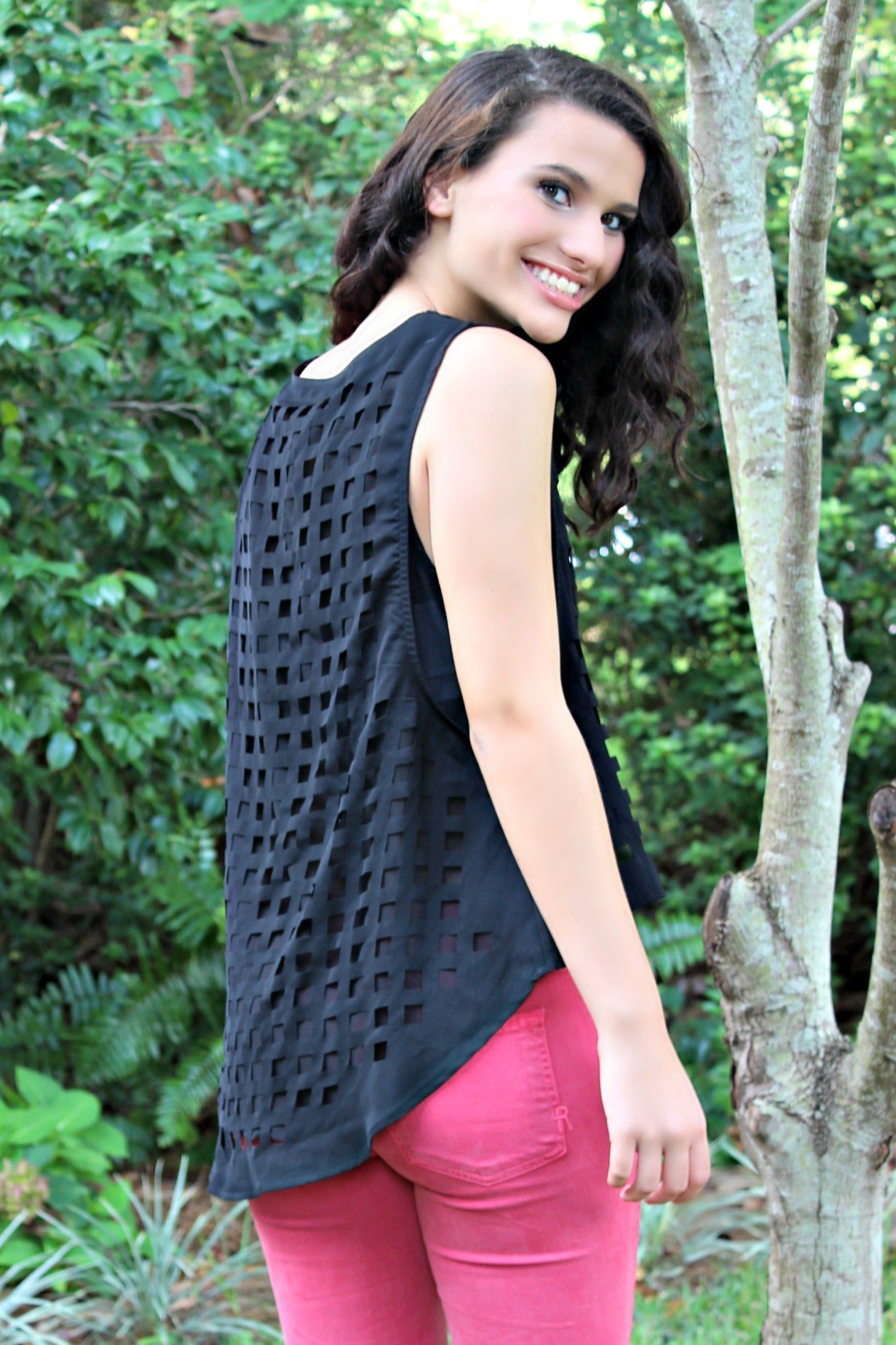 Chase Top, Black