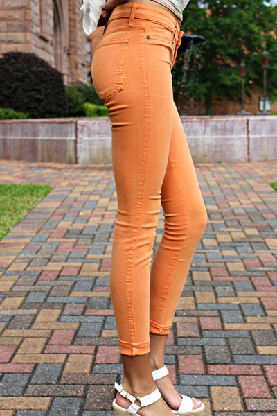 Rich and Skinny: Legacy Jeans, Orange