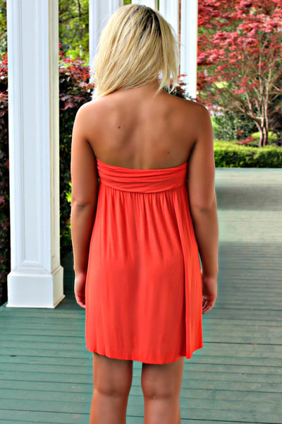 Tana Dress, Orange