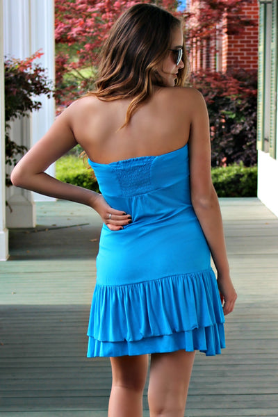 Colleen Dress, Blue