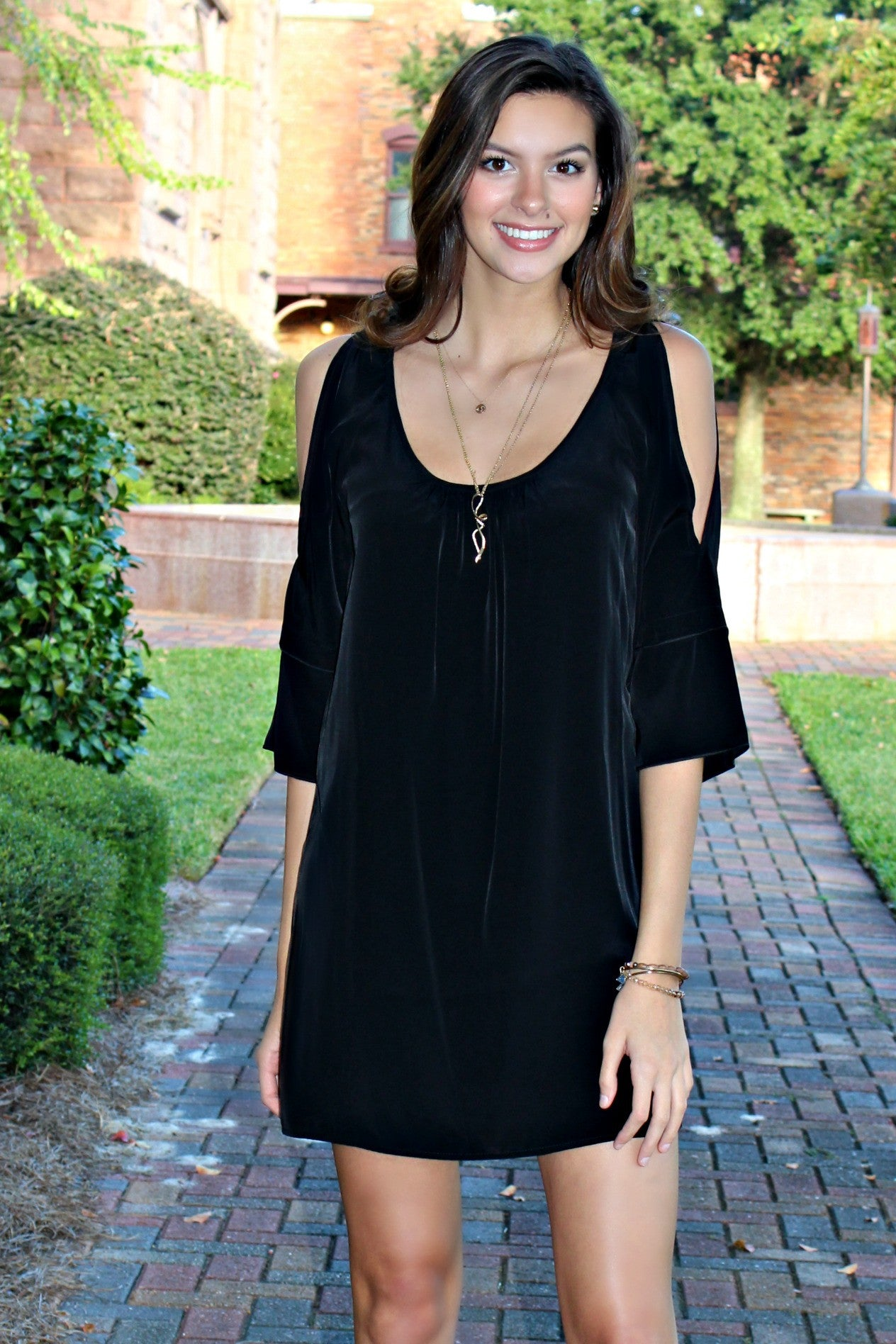 Glam: Laney Dress, Black
