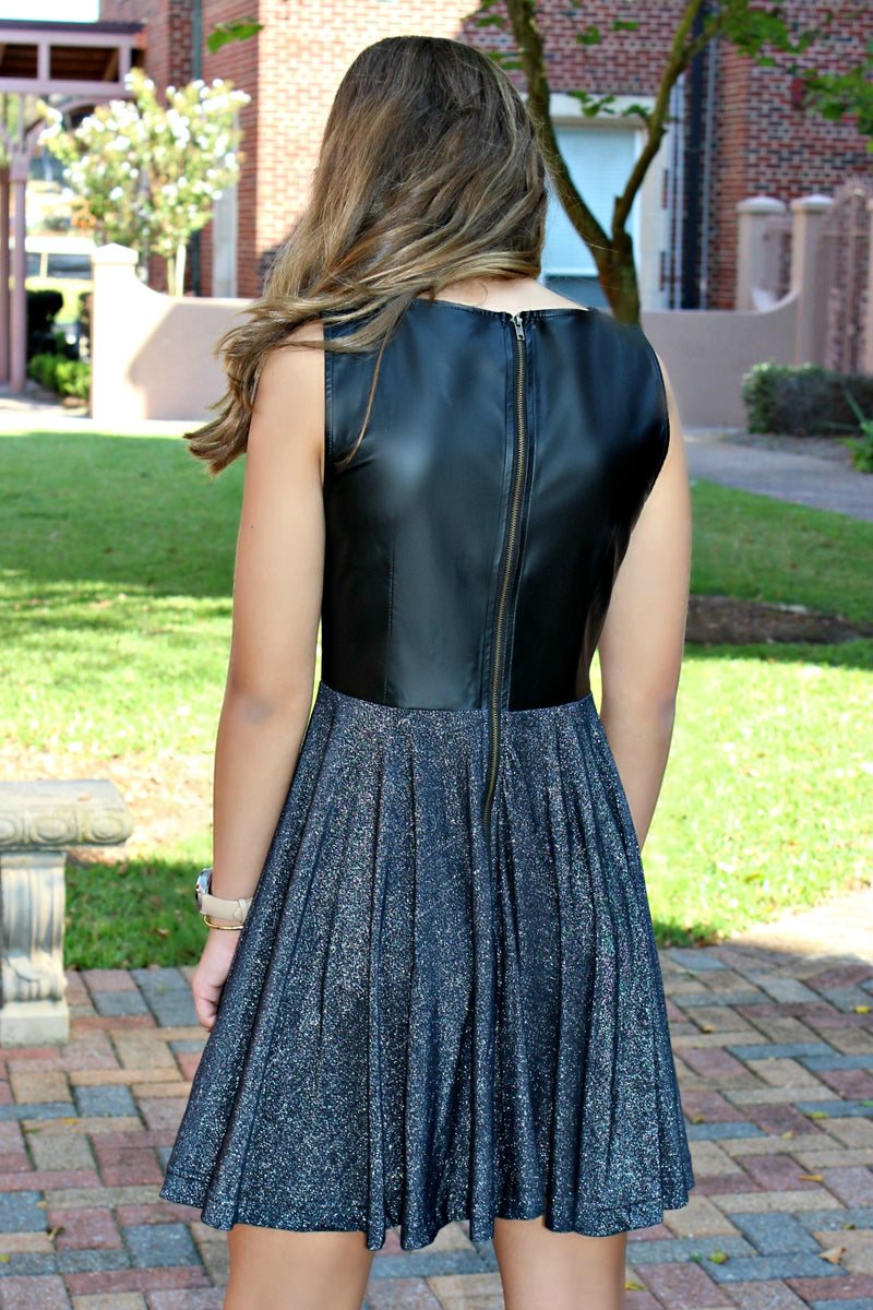 Mink Pink: Suzannah Dress, Black