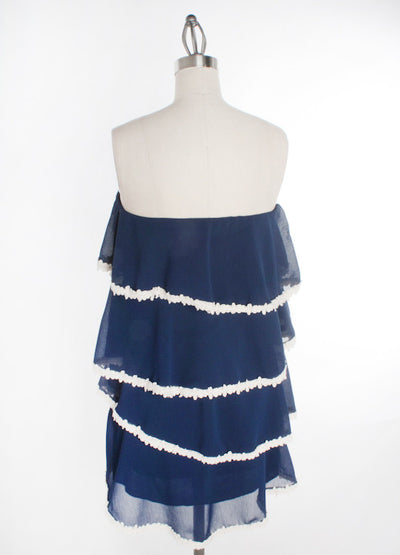 Judith March: Bridgette Dress, Navy