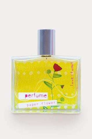 Love and Toast: Perfume, Paper Flower