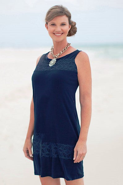 Missy Robertson: Lisa Dress, Navy