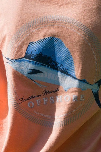 Southern Marsh: Sailfish Tee, Melon
