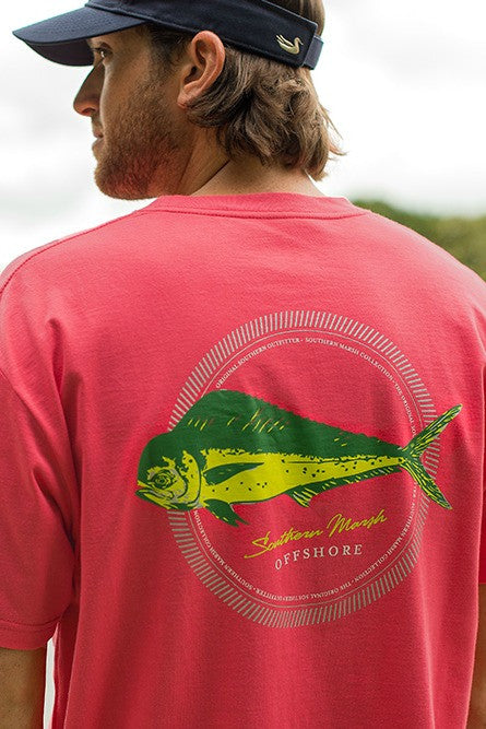 Southern Marsh: Offshore Tee, Strawberry Fizz