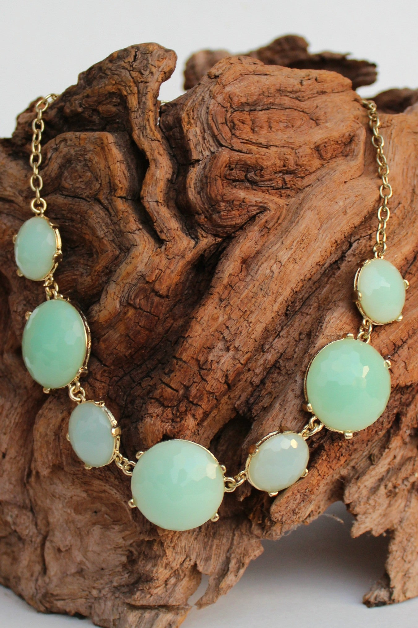 Sea Green and Mint Necklace