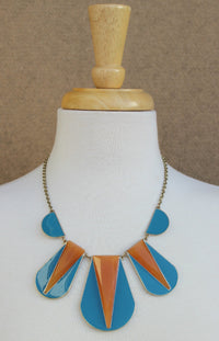 Goddess Necklace, Blue