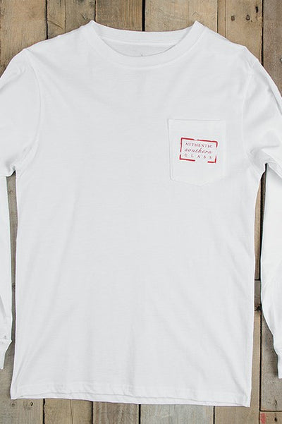 Southern Marsh: Authentic Heritage Tee, White