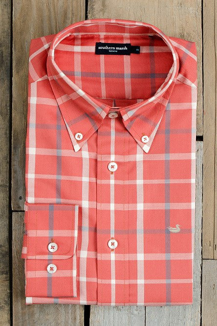 Southern Marsh: The Lafitte Tattersall, Washed Red