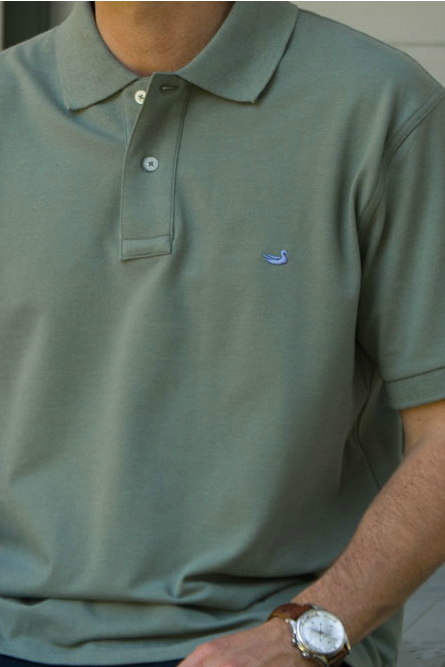 Southern Marsh: Stonewall Heathered Polo, Sandstone