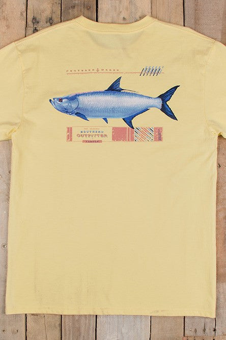 Southern Marsh: Tarpon Tee, Yellow