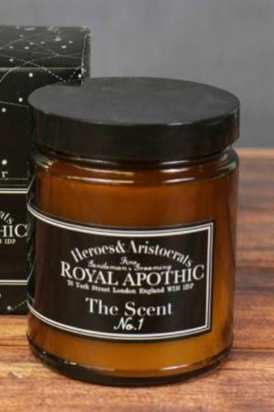 "Royal Apothic: The ""Man""dle Luminarie Candle, Scent No. 1"