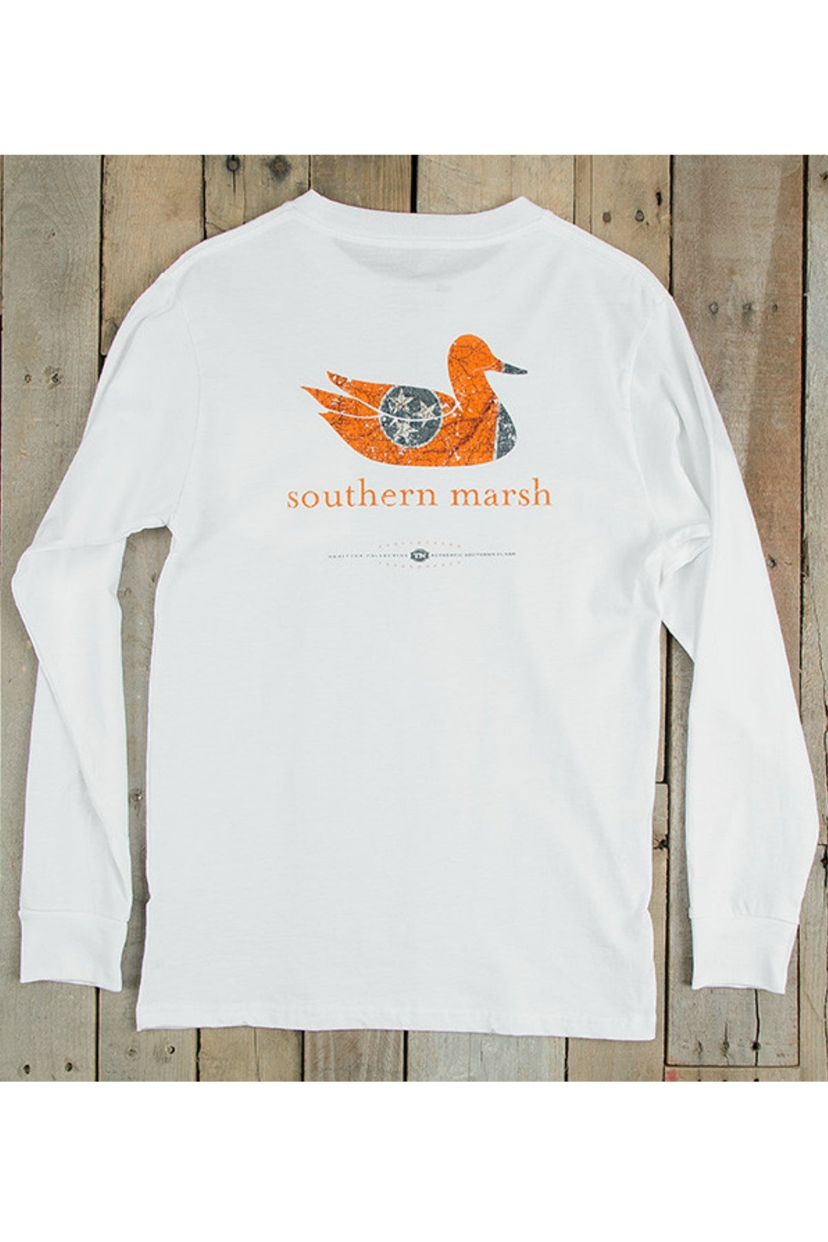 Southern Marsh: Authentic Heritage Collection Tennesseee, White
