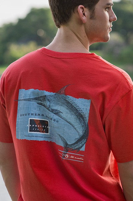 Southern Marsh: Marlin Tee, Red