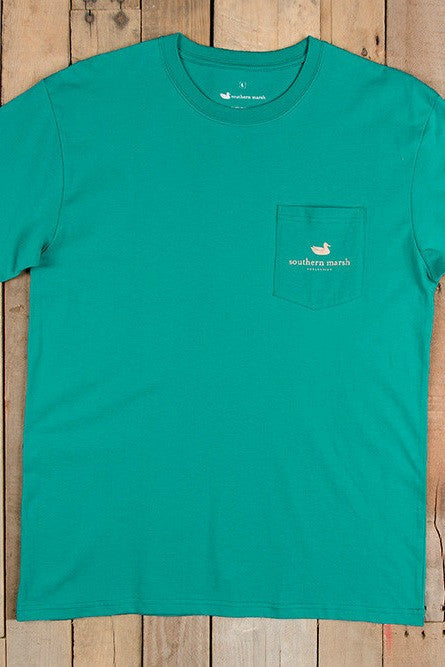 Southern Marsh: Marlin Tee, Teal