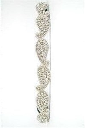Pink Pewter: Angelina Headband, Silver