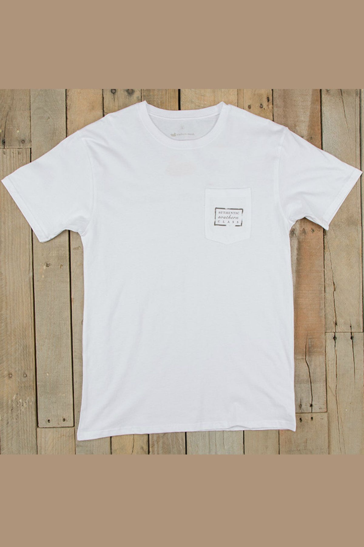 Southern Marsh: Authentic Tee, White