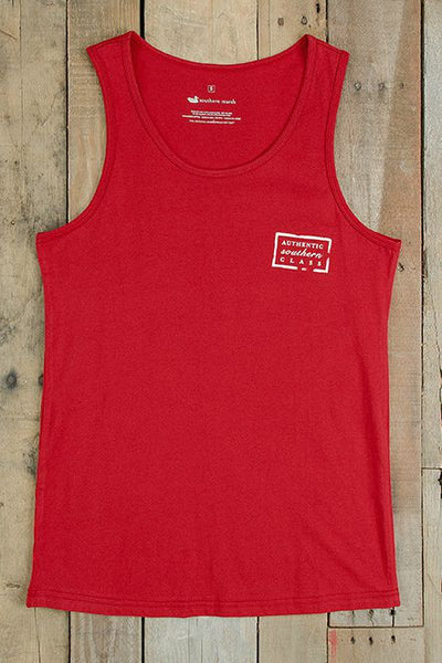 Southern Marsh: Authentic Tank, Crimson