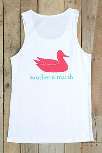 Southern Marsh: Authentic Tank, White