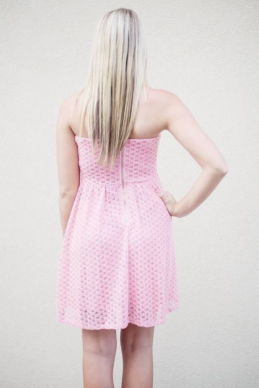 Whitney Dress, Pink