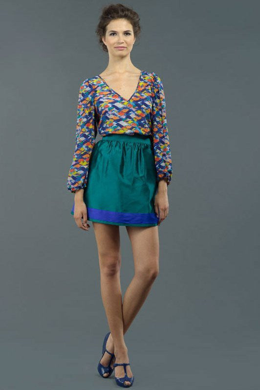 By Smith: Monet Blouse, Multi
