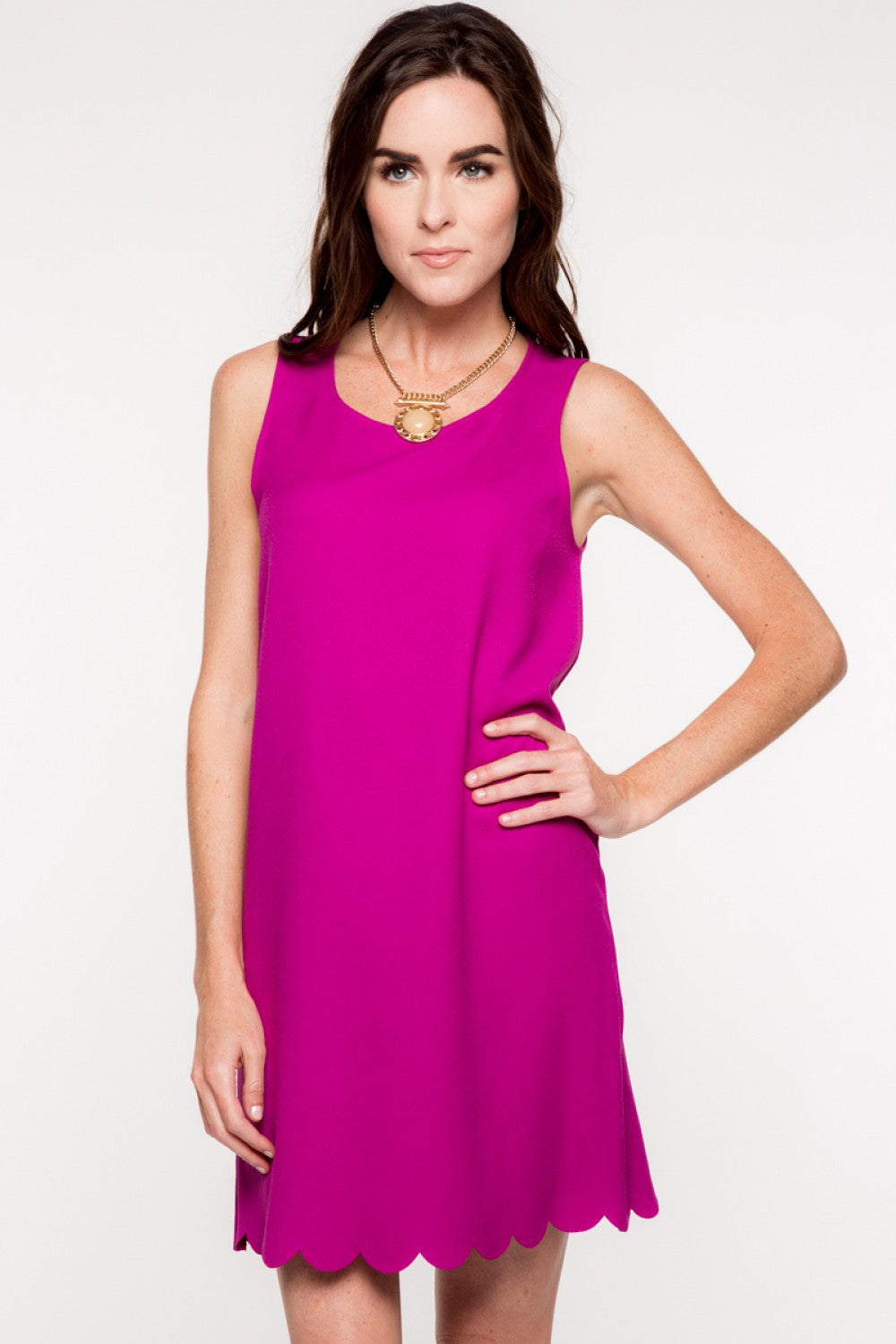 Everly: Kristine Dress, Purple