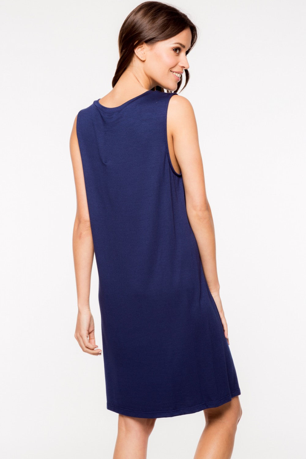 Everly: Bonnie Dress, Navy