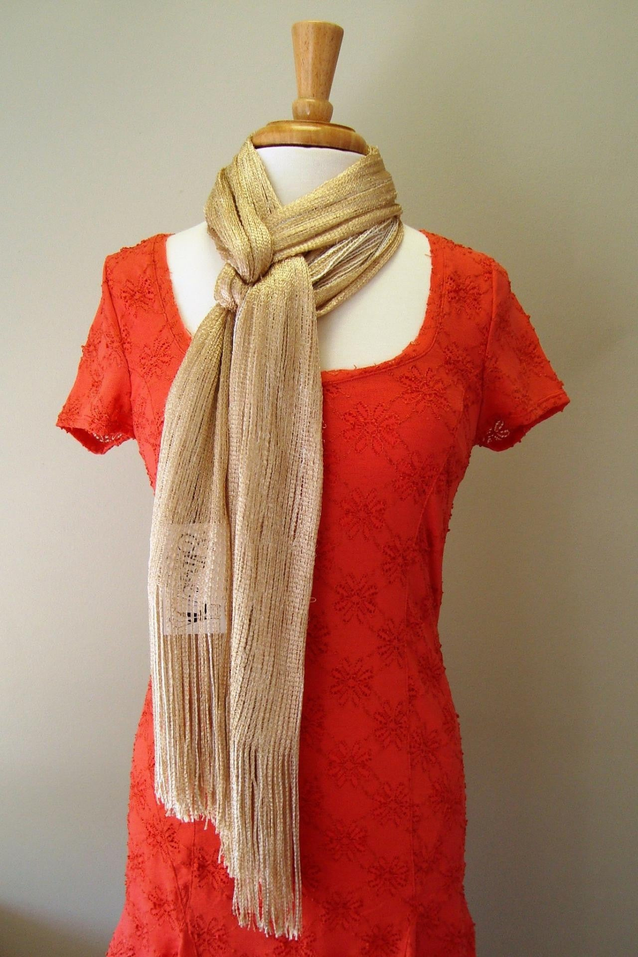 Kasey Scarf, Gold