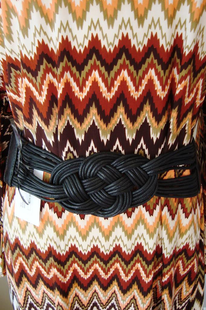 Single: Braided Belt, Black