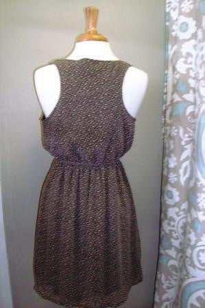 Kellison Dress, Brown