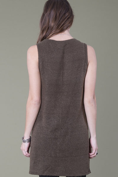 Brigitte Tunic, Dusty Olive