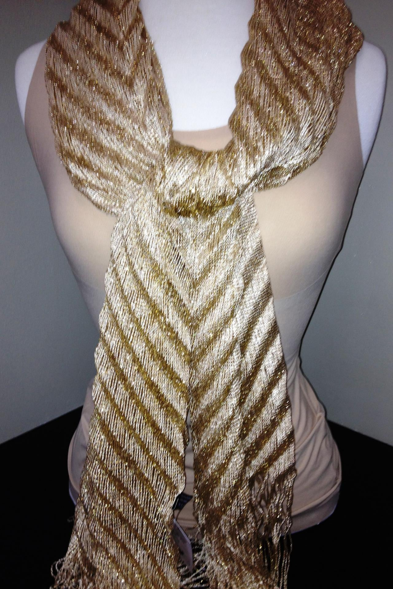 Sparkle Scarf, Gold