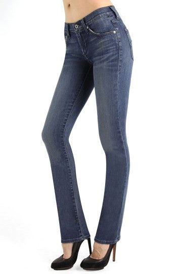James Jeans: High Rise Straight, Denim