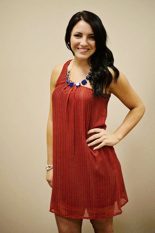 Judith March: Rebels Dress, Red/Navy