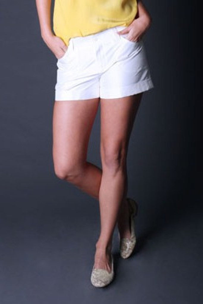 By Smith: Soho Shorts, Ivory