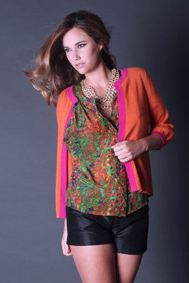 By Smith: Ombrello Blouse, Multi