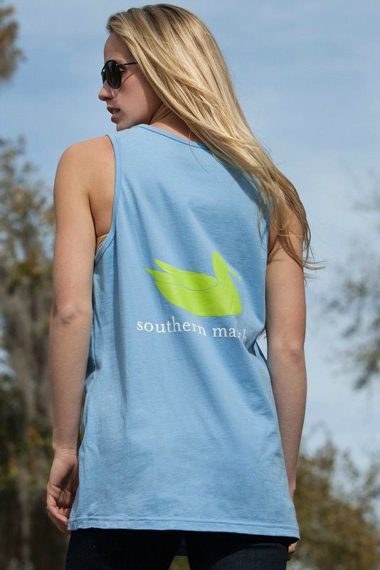 Southern Marsh: Authentic Tank, Breaker Blue