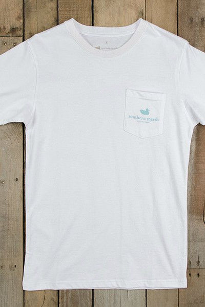 Southern Marsh: Tuna Tee, White