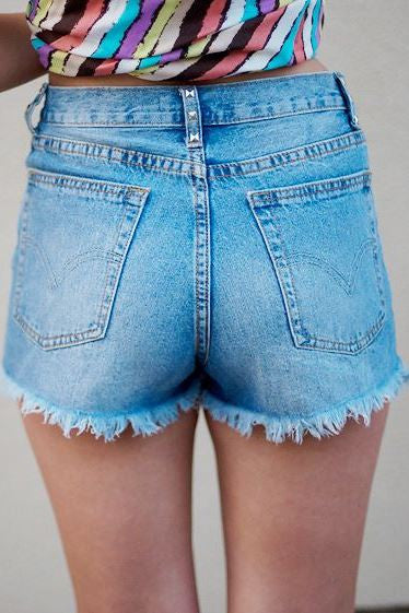Karlie: Abbie Shorts, Denim