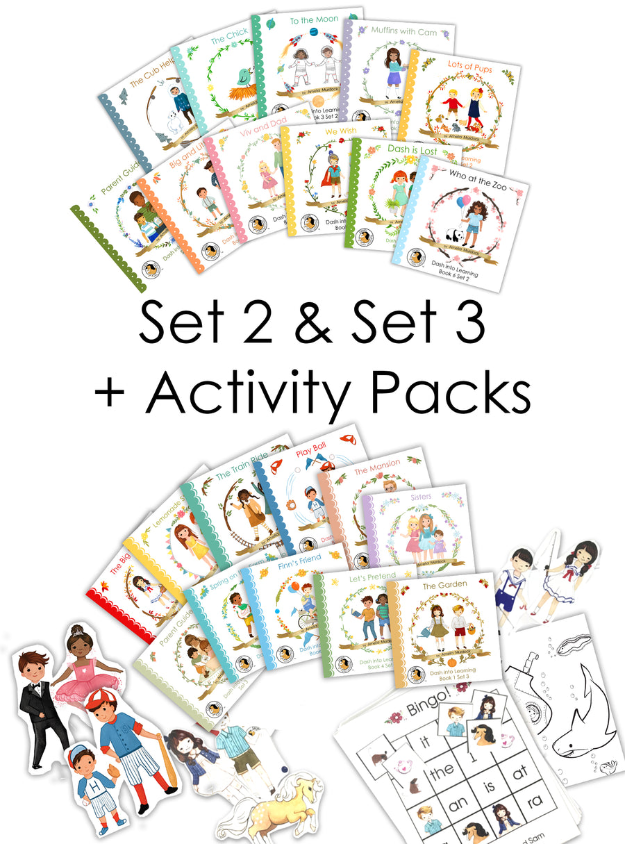 Set 2 & Set 3 + Activity Packs--BUNDLE DEAL!