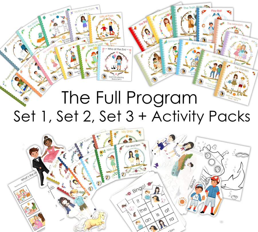 FULL PROGRAM-- Set 1, Set 2, Set 3 + All Activity Packs