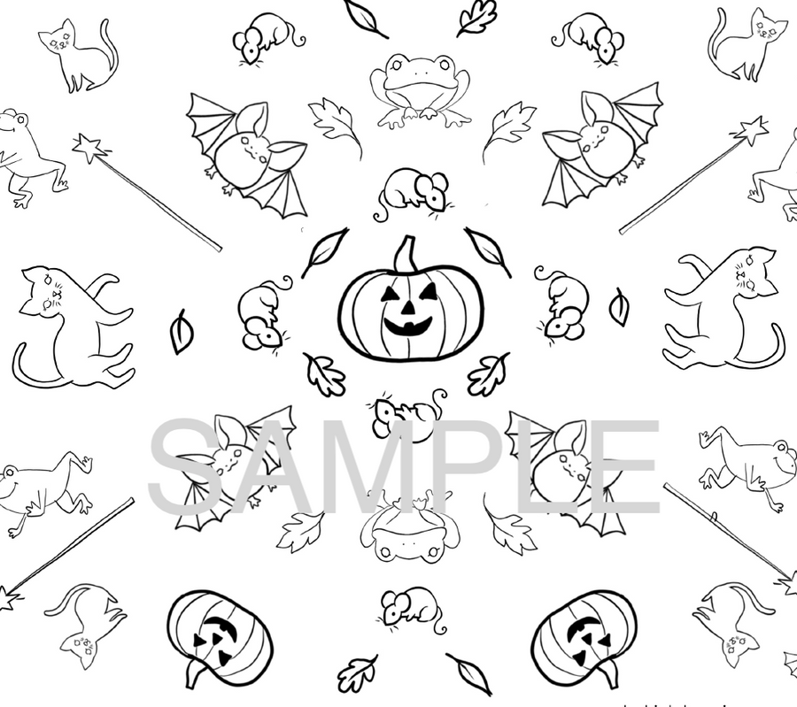 Fall/Halloween Coloring and Activity Pack