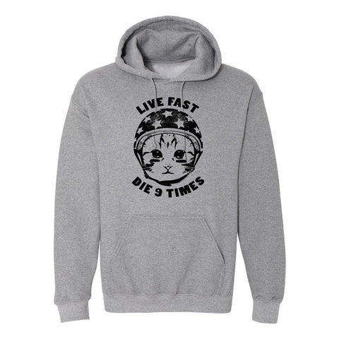 9 Lives Pullover Hoodie