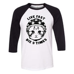 9 Lives Baseball Shirt