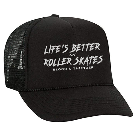 Life's Better on Roller Skates Trucker Hat