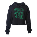 B-Movie Cropped Pullover Hoodie (Wholesale)
